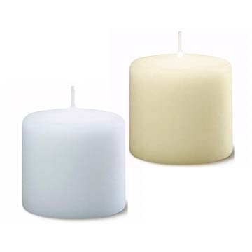 Bolsius - Euro Classic Pillar Candle 10 x 10 - White or Ivory