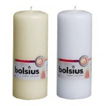 Bolsius - Euro Style Pillar Candle 15 x 6 - White or Ivory