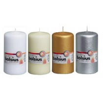 Bolsius Euro Style Pillar Candle 13cm x 7cm