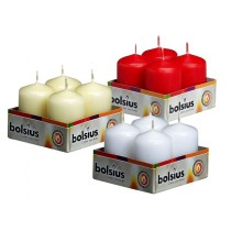 Bolsius - Euro Classic Pillar Candle 60 x 40mm (4 candles / pack)
