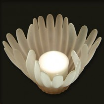 """Coral"" Tea Light or Votive Lamp - 4 colours"