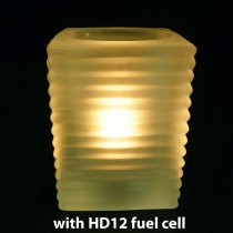 With HD12 Real Flame Oil Candle Fuel Cell