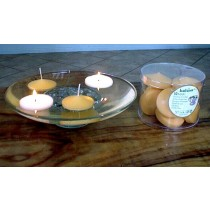 large floating candles