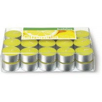 Euro Citronella Tea Lights 4 Hour burner Box 30 pieces