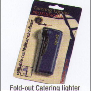 Refillable Fold-up Catering Lighter