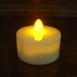 Battery operated LED tea light (ivory)
