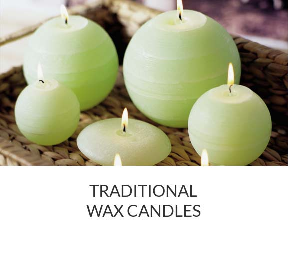 Shop Traditional Wax Candles